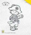 Clear Stamp Brave Captain