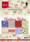 PK9087 Paper Bloc Christmas Wishes